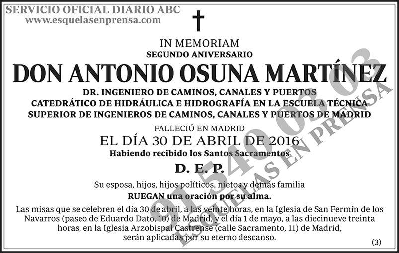 Antonio Osuna Martínez
